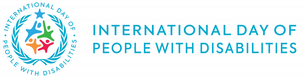 Internation Day of People With Disabilities logo