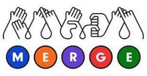 Merge NZ Sign Language logo